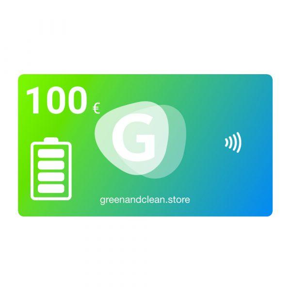 100 € GreenCleanCard + 10 € Bonus 1