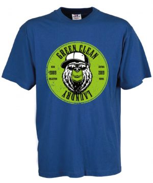 T-shirt Bear Brille Blu